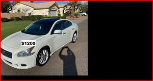 Price$1200 Nissan Maxima for Sale in Overland Park, KS