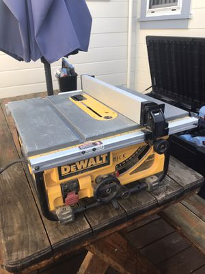 Dewalt tablesaw for Sale in Pacifica, CA