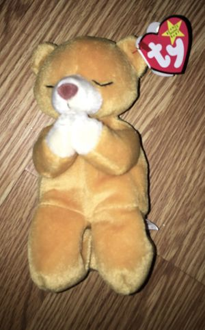"VINTAGE TY BEANIE BABY ""HOPE"" PRAYING IN PROTECTIVE CASE for Sale in Denver, CO"