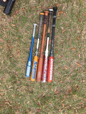 Baseball bats for Sale in Saint Petersburg, FL