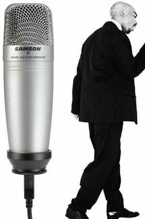 Samson Professional USB Large Diaphragm Condensor Microphone for Sale in Diamond Bar, CA