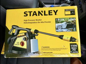 Stanley High Powered Pressure Washer BRAND NEW IN BOX! for Sale in Greenville, SC