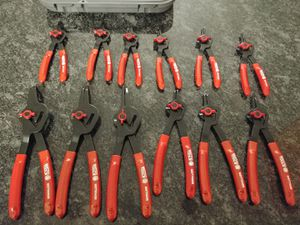 Matco tools 12 piece snap ring pliers set for Sale in Romeoville, IL