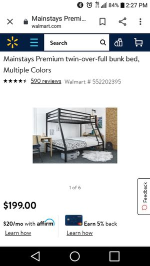 Bunk Bed Frame for Sale in Bellview, FL