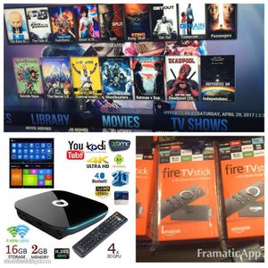 Fire sticks $85 and Q boxes $130 for Sale in Worcester, MA
