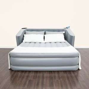 Headboard Air Mattress with Built-in AC Pump for Sale in Los Angeles, CA