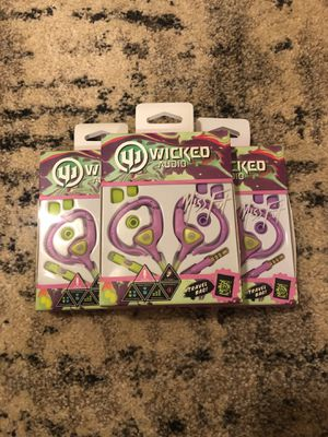 Wicked Audio Miss Fit Earhugger Sport Earbuds for Sale in Lakewood Township, NJ