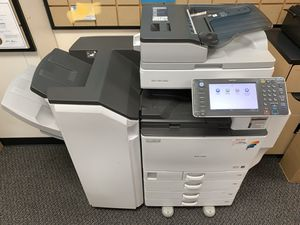 Ricoh MP C5502 **FIERY** Color Copier, Print, Scan, Speed 55 PPM for Sale in Fullerton, CA