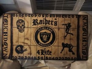 Football field hanging plaque for Sale in Wenatchee, WA