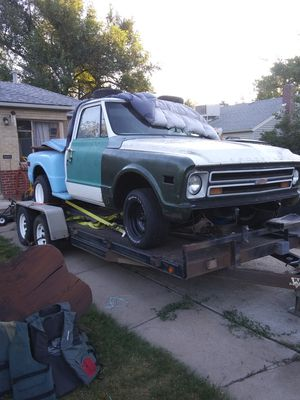 1967 chevy short bed stepside for Sale in Thornton, CO
