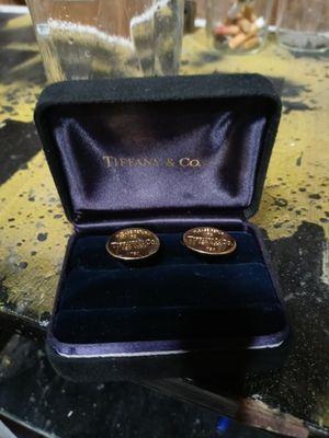 Tiffany & co cufflinks for Sale in Taylor Lake Village, TX