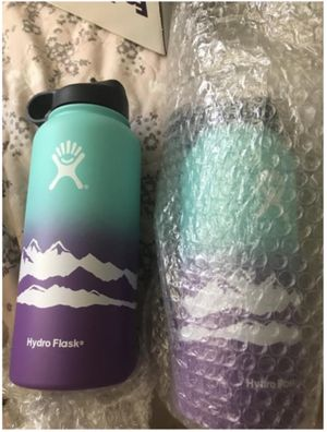 Hydro Flask 32 OZ Wide Mouth Limited Edition Peak Water Bottle for Sale in Buena Park, CA