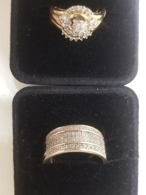 10kt yellow gold w diamond for Sale in Lynchburg, VA