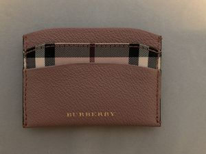 Burberry Pink Card Case for Sale in Barnegat Township, NJ