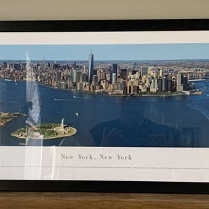 Framed New York City Picture Size 41.5 X 15 for Sale in Port Richey, FL