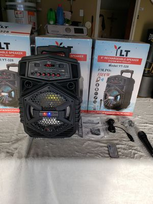 Bluetooth speaker new rechargeable for Sale in Lake Elsinore, CA