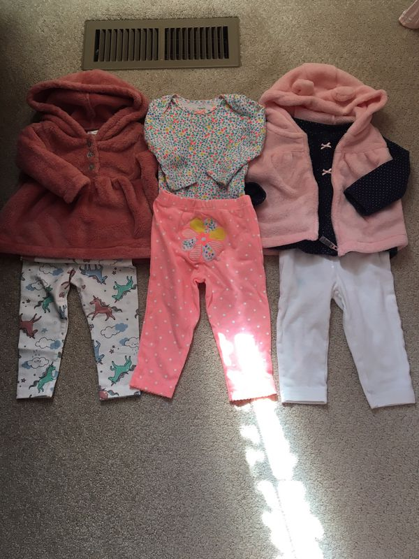 9 month old baby girl outfits