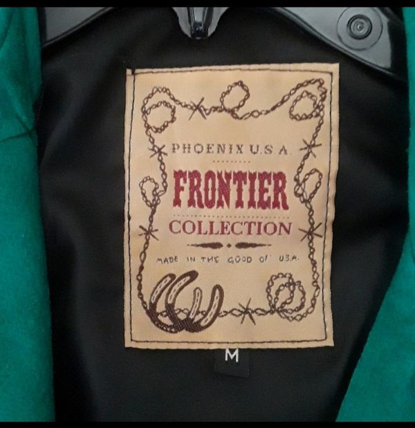 New Frontier Collection Western Leather Jacket