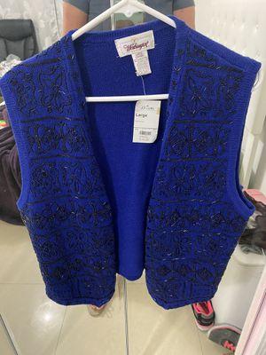 JC penny Blue sweater vest for Sale in Hialeah, FL