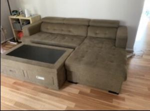 Brown Chaise Lounge Set for Sale in Columbia, MD