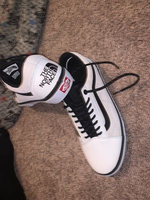 North face vans size 9.5 for Sale in Elkridge, MD
