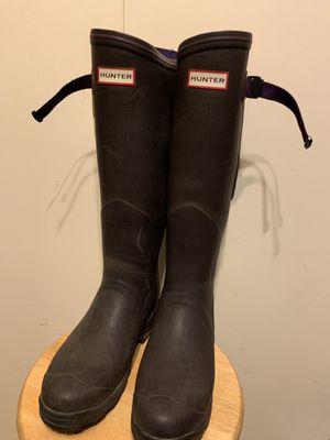 Hunter rain boots size 8 for Sale in Birmingham, MI