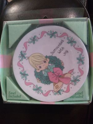 Precious Moments Mini Plate for Sale in Friendswood, TX