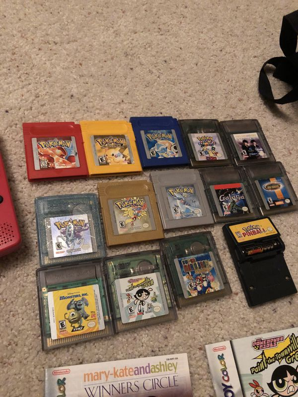 Gameboy Color with games *Mint*