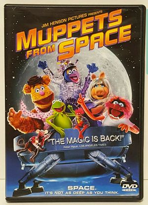 Muppets From Space Dvd Movie jim henson dvd kermit the frog for Sale in Miramar, FL