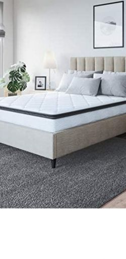 Classic Brands Synergy Memory Foam and Innerspring Hybrid 9-Inch Pillow Top Mattress | Bed-in-a-Box King for Sale in Santaquin,  UT