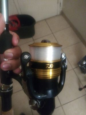 OKUMA FISHING ROD WITH DAIWA REEL for Sale in Downey, CA