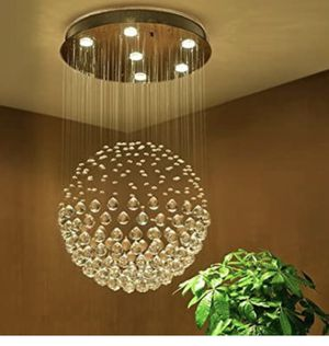 Brand new crystal chandelier/channel light/luxury chandelier/home decor/Light fixtures /home goods for Sale in Town 'n' Country, FL