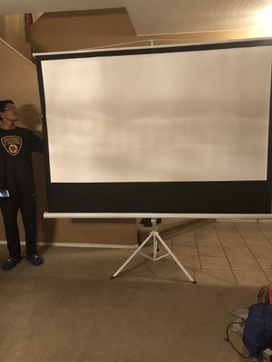 150 inch movie screen for Sale in Laveen Village, AZ