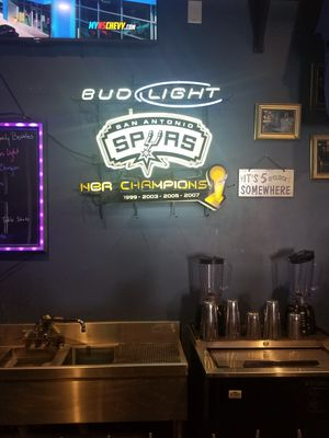 Spurs neon sign for Sale in San Antonio, TX