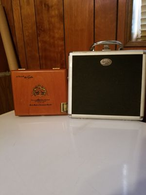 Thompson Metal Cigar Case & Arturo Fuente Wood Cigar Case for Sale in Jacksonville, FL
