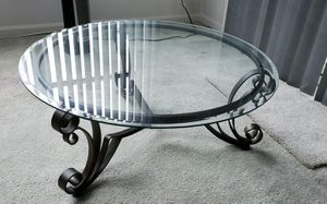 Glass top coffee and 2 end tables for Sale in Rockville, MD