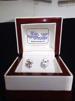 14 Kt. Gold Diamond Earrings Lab Grown All Sizes for Sale in Utica, MI