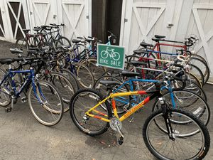 Actual Bikes for Sale Wednesday October 21 @10am-3pm hybrid mountain road bicycles Cannondale Univega fuji Schwinn $200-$425+ for Sale in Brooklyn, NY
