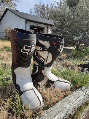 Fox dirt bike boots for Sale in Hurst, TX
