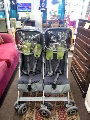 MacLaren double baby stroller for Sale in Tampa, FL