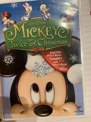 Mickeys Twice upon a Christmas DVD for Sale in TWN N CNTRY, FL