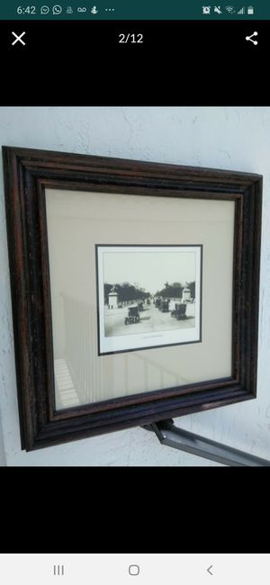 France old Pictures 26x26 inches for Sale in Boca Raton, FL
