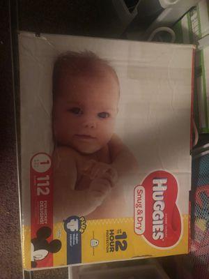 Huggies diapers for Sale in Boynton Beach, FL