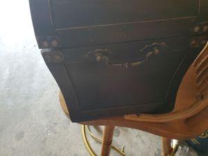 Wood treasure chest for Sale in Marietta, PA