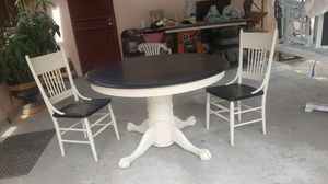 Antique table and chairs for Sale in Parlier, CA
