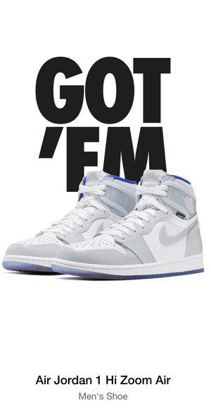 "Air Jordan 1 ""Racer Blue"" Mens Size 10.5 for Sale in Riverside, CA"