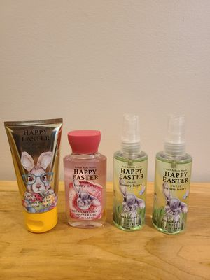 BBW Happy Easter Set Sweet Bunny Berry for Sale in Fairfax, VA