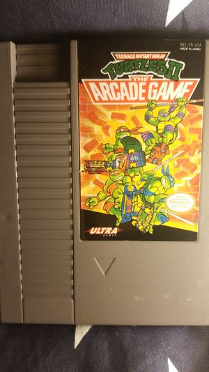 Teenage Mutant Ninja Turtles: The Arcade Game (NES) for Sale in Houston, TX
