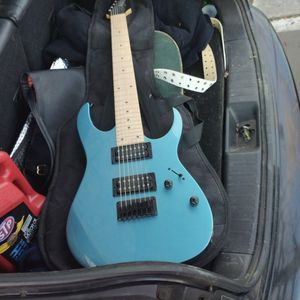 Ibanez 7 String Electric Guitar And Amp for Sale in Concord, CA