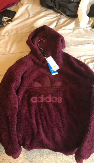 Adidas furry hoodie xl for Sale in Mount Vernon, WA